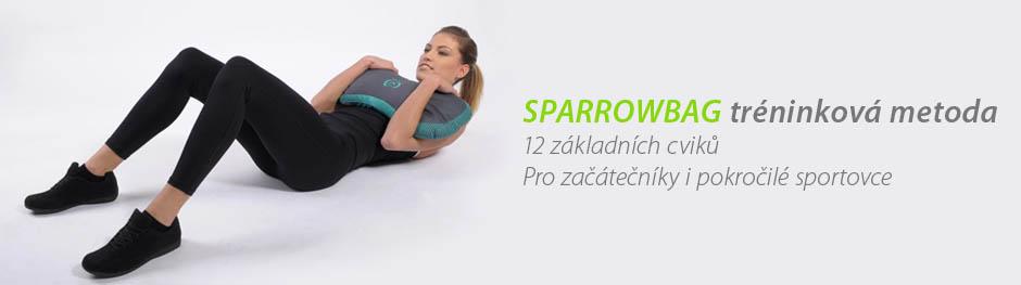SPARROWBAG tréninková metoda 12 základních cviků pro začátečníky i pokročilé sportovce