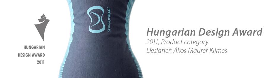 SPARROWBAG Wins Hungarian Design Price